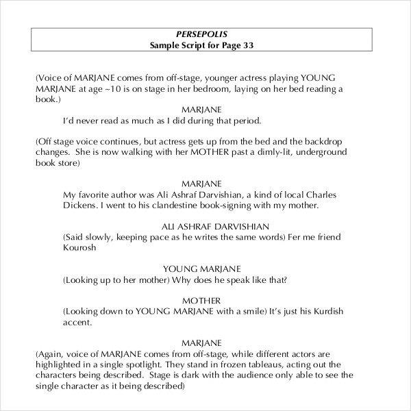 Stage Play format Template Sample Telugu Movie Script Pdf Customerlinoa