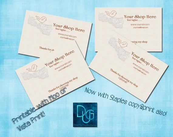 Staple Business Cards Template Moo Vistaprint O Staples Printable Business Card by