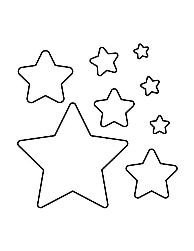 Star Cut Out Templates Best 25 Star Stencil Ideas On Pinterest