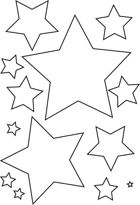 Star Cut Out Templates Best 25 Star Template Ideas On Pinterest