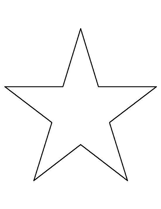 Star Cut Out Templates Best 25 Star Template Ideas On Pinterest