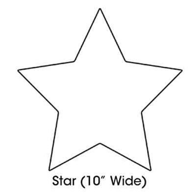 Star Cut Out Templates Printable Star Shape Cut Out Templates