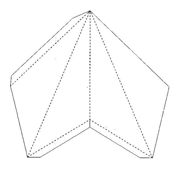 Star Lantern Template 3d Paper Star Pattern Stars