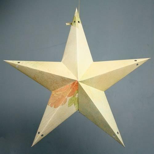 Star Lantern Template Make A Paper Star Lantern Printable Template and