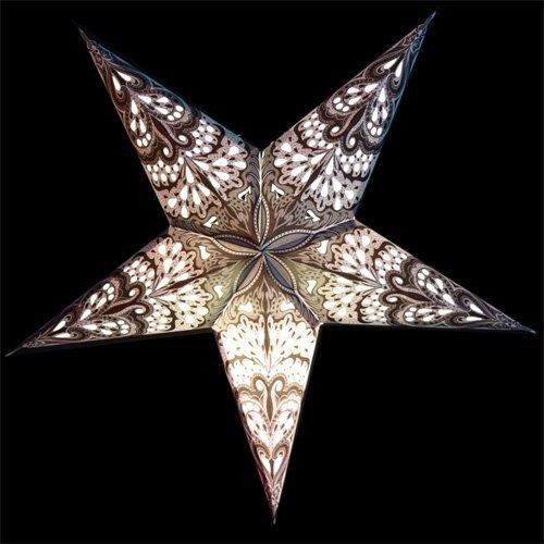 Star Lantern Template Pattern 5 Point Star Lanterns Paperlanternstore