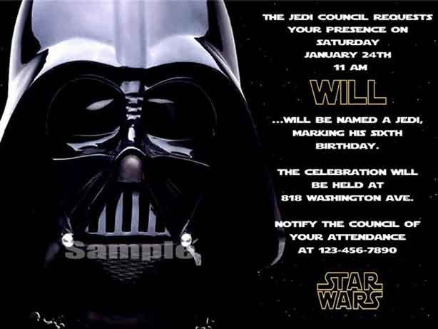 Star Wars Birthday Invitation the Best Star Wars Birthday Invitations by A Pro Party