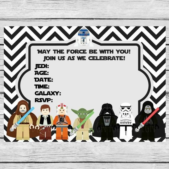Star Wars Invitations Template 35 Best Images About Fiesta Star Wars Star Wars Party