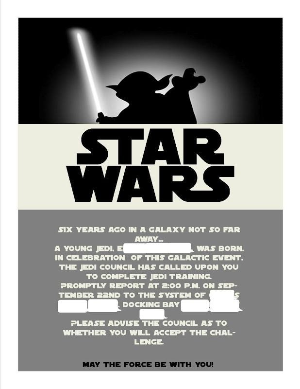 Star Wars Invitations Template Best 25 Star Wars Invitations Ideas On Pinterest