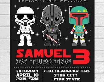 Star Wars Invitations Template Star Wars Invitation