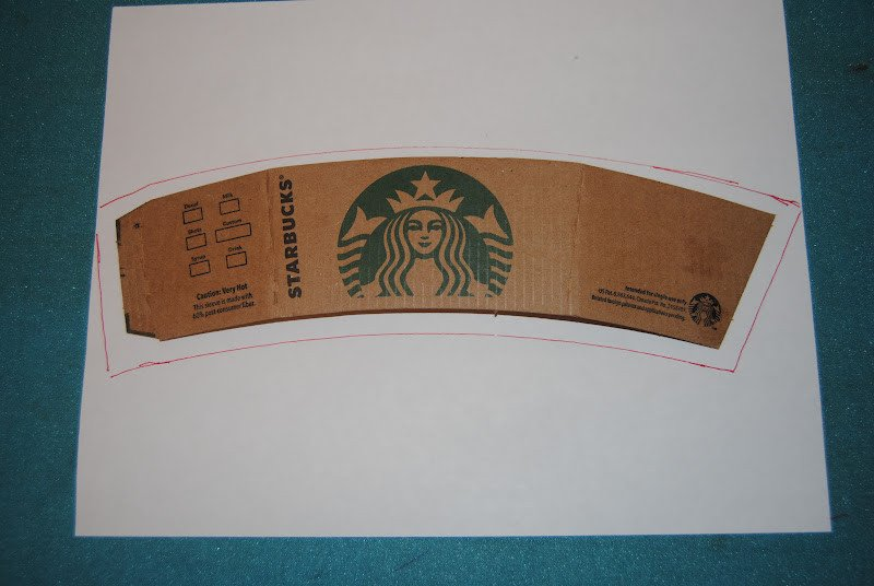 Starbucks Sleeve Template Signature Creations Coffee Drink Cozy Tutorial