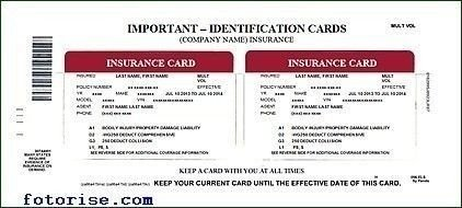 State Farm Insurance Card Template Auto Insurance Card Template Free Download – Ideal