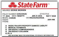 State Farm Insurance Card Template Faq at Luxury Car Rental Usa