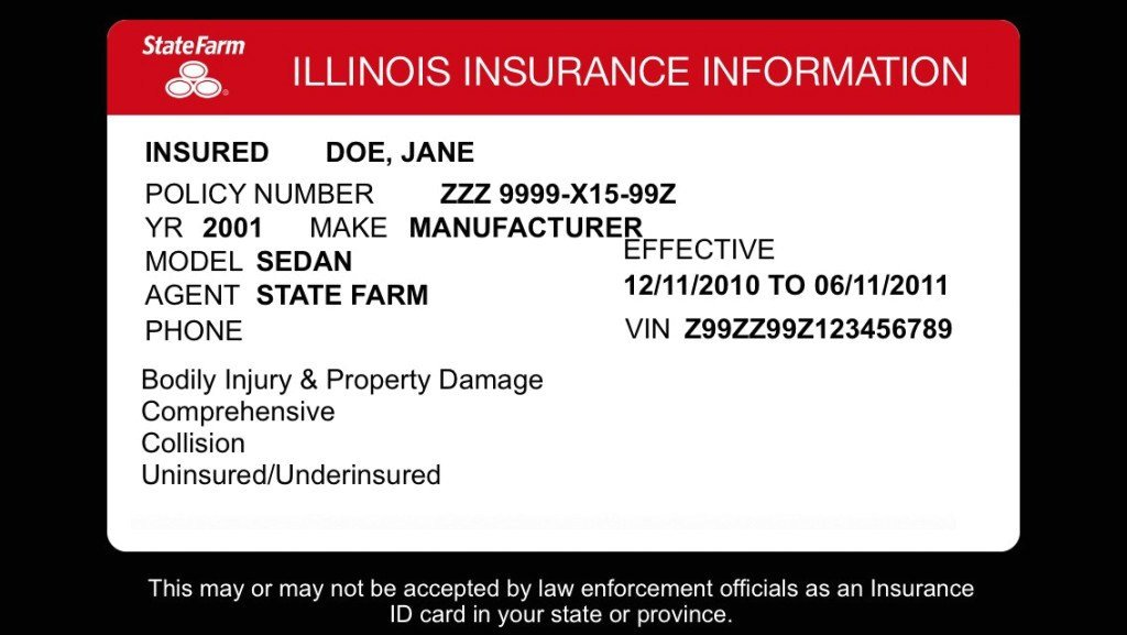 State Farm Insurance Card Template Policy Number State Farm Insurance Card 14 Benefits