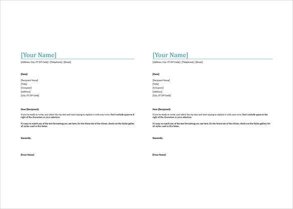 Stationery Template for Word 32 Free Download Letterhead Templates In Microsoft Word