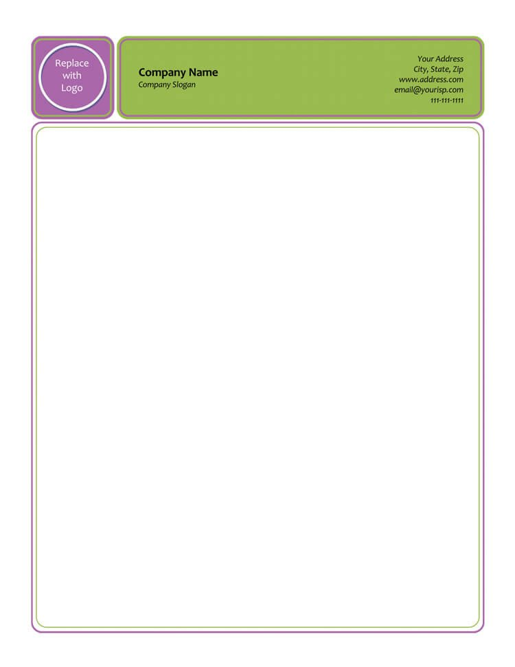 Stationery Template for Word 50 Free Letterhead Templates for Word Elegant Designs
