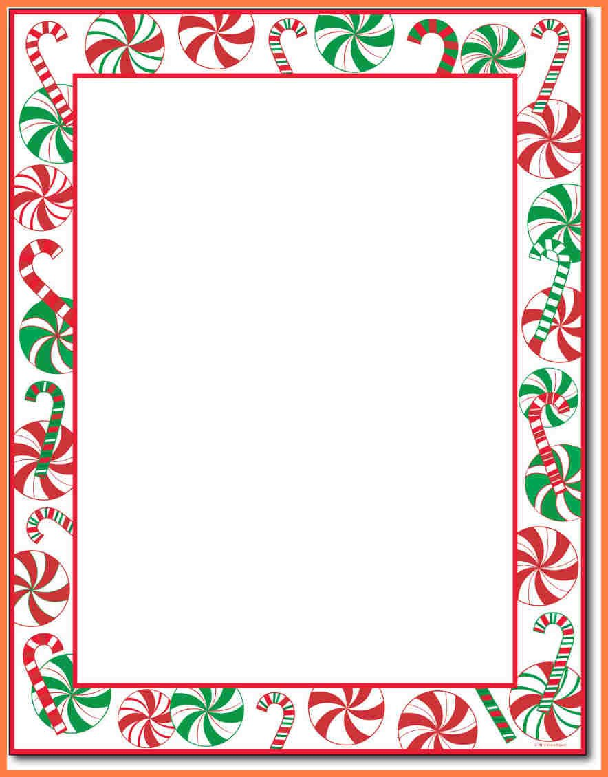 Stationery Template for Word 7 Christmas Letterhead Templates Word