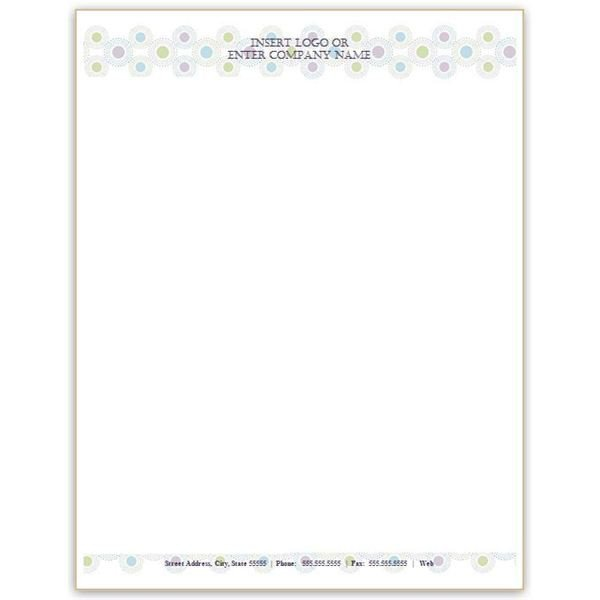 Stationery Template for Word Six Free Letterhead Templates for Microsoft Word Business