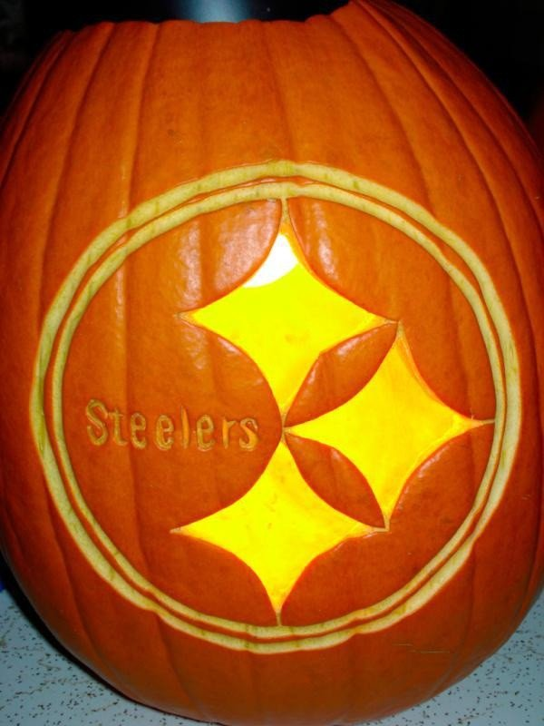 Steeler Pumpkin Stencil 46 Best Images About Pittsburgh Steelers Halloween On