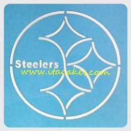 Steeler Pumpkin Stencil Cake Stencils Sports Teams