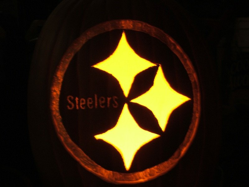 Steeler Pumpkin Stencil Let S Go Steelers