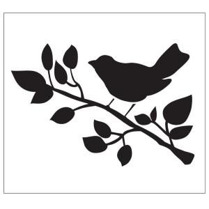 Stencil Templates for Painting Folkart Bird Painting Stencils the Home Depot