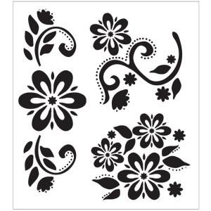 Stencil Templates for Painting Folkart Debbie S Floral Painting Stencils the Home