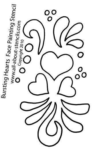 Stencil Templates for Painting Free Stencils for Face Painting for Your Next Party
