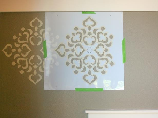 Stencil Templates for Painting How to Stencil A Focal Wall