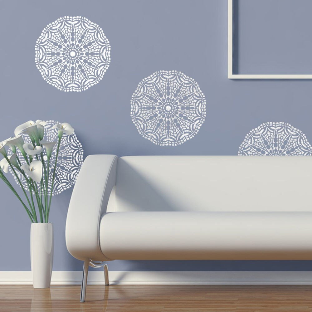 Stencil Templates for Painting Wall Lace Decorative Stencil Talia for Home Painting