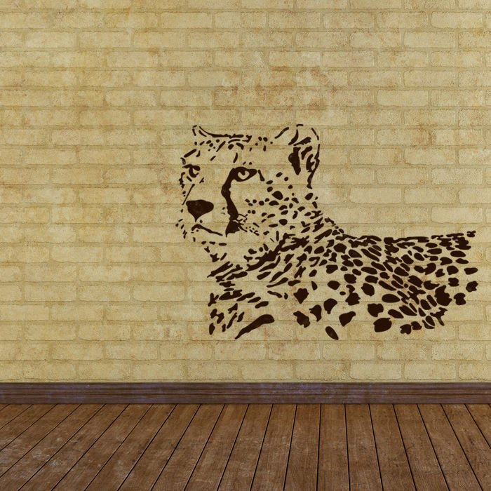 Stencil Templates for Painting Wall Stencils Leopard Stencil Template for Wall