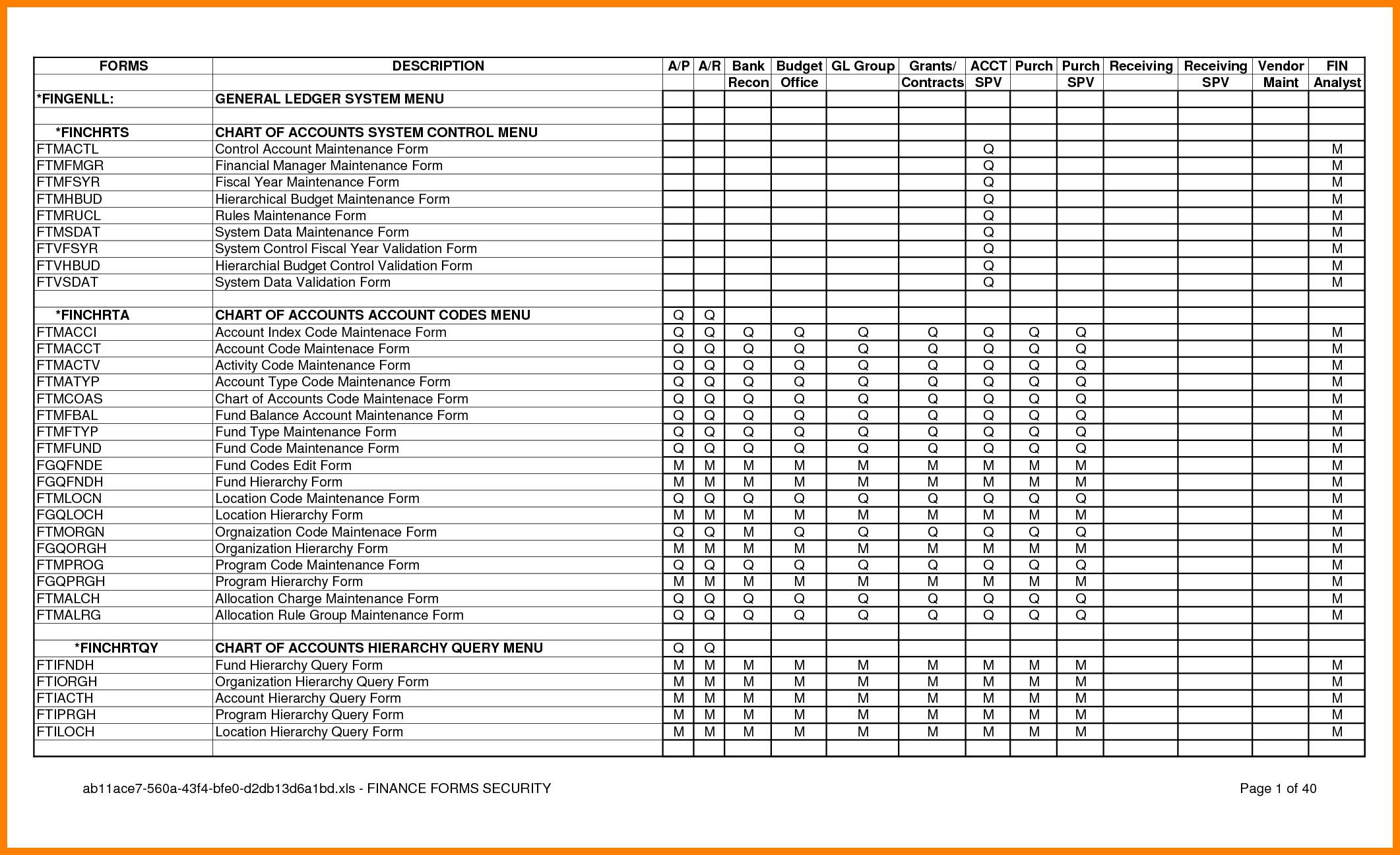 Stock Transfer Ledger Template 6 Stock Ledger Template Excel