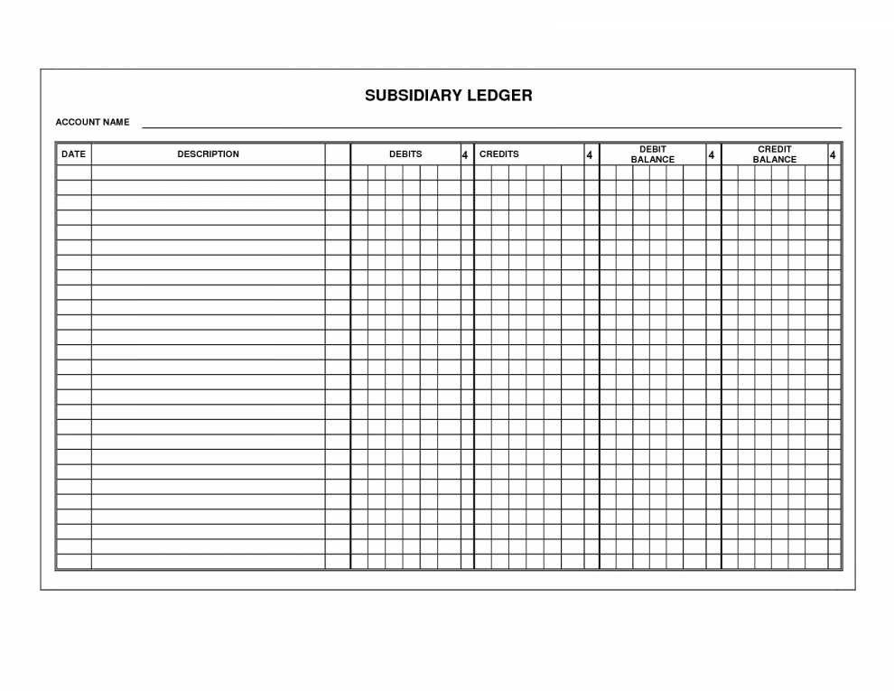 Stock Transfer Ledger Template Stock Certificate Ledger Template