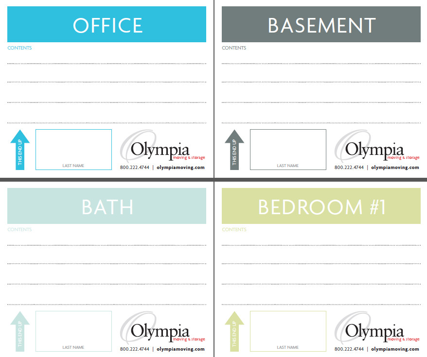 Storage Box Labels Template Free Printable Moving Box Labels