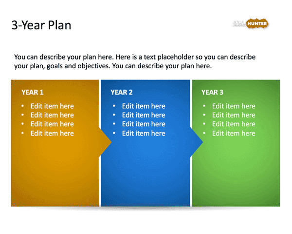 Strategic Planning Template Ppt 3 Year Strategic Plan Powerpoint Template is A Free