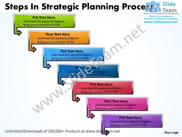 Strategic Planning Template Ppt Business Power Point Templates Steps Strategic Planning