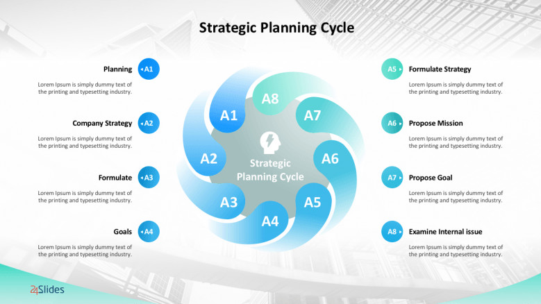 Strategic Planning Template Ppt Management Strategy Templates