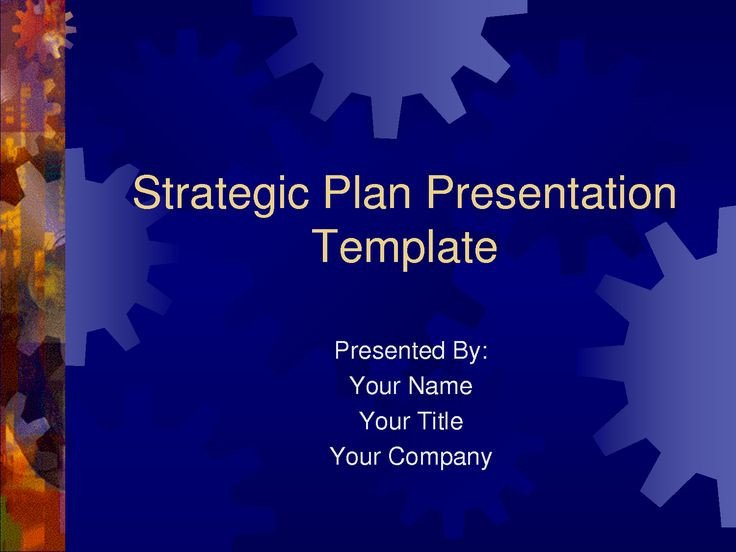 Strategic Planning Template Ppt Strategic Plan Powerpoint Templates Business Plan