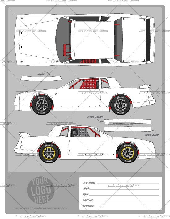 Street Stock Template Street Stock Template 1 School Of Racing Graphicsschool