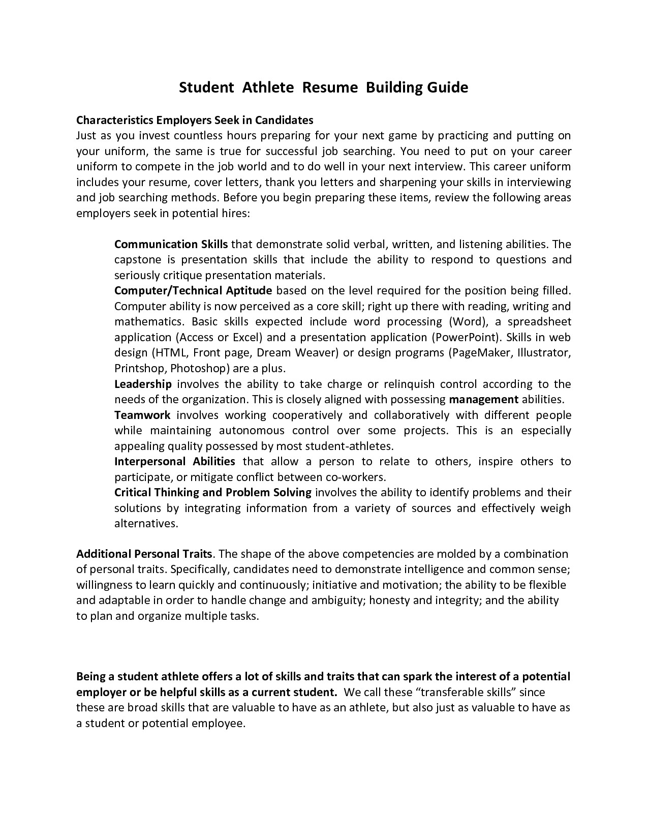 Student athlete Resume Template Resume for Kinesiology Student Marchigianadoc