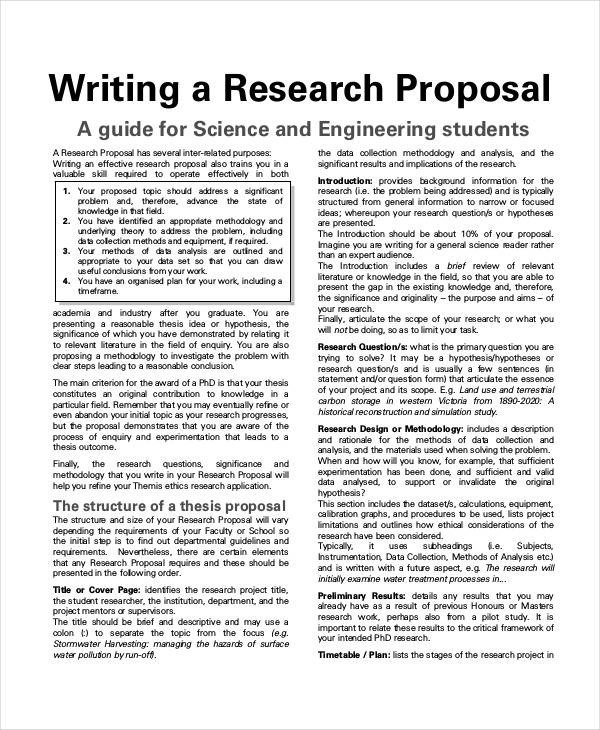 Student Project Proposal Example 30 Project Proposal Examples Word Pdf
