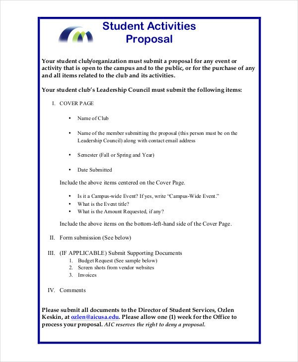 Student Project Proposal Example 44 Project Proposal Examples Pdf Word Pages