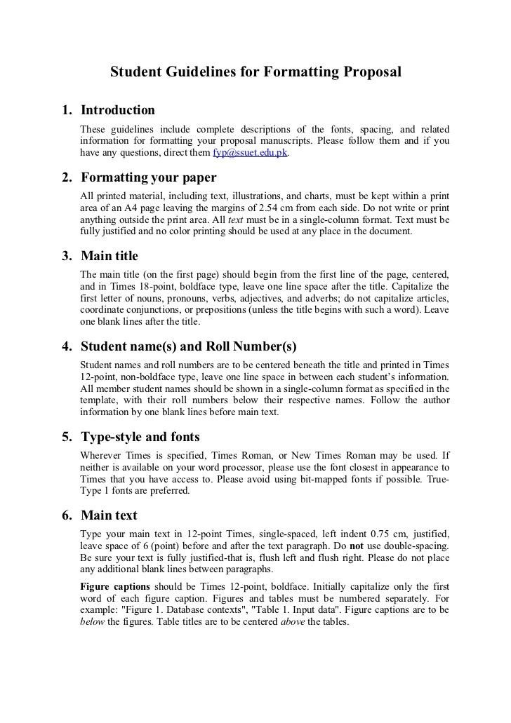 Student Project Proposal Example Image Result for Project Proposal format for Student