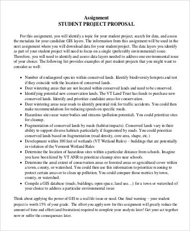 Student Project Proposal Example Project Proposal Example 20 Samples In Word Pdf