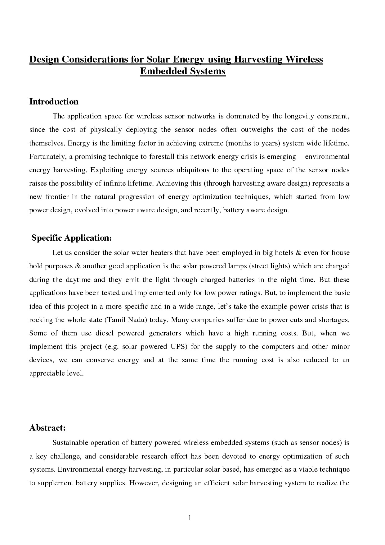 Student Project Proposal Example Proposal Template Category Page 2 Efoza