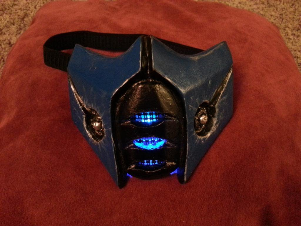 "Sub Zero Mask Template Ninthcirclecosplay On Twitter ""step One Finish New Sub"