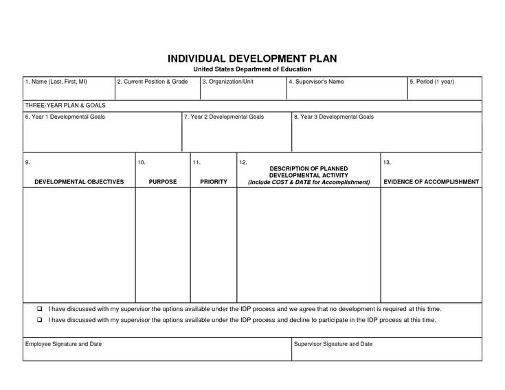 Succession Planning Template Excel Individual Development Plan Template Word Google Search