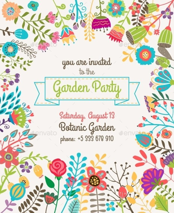 Summer Party Invites Templates 20 Beautiful Summer Party Invitation Designs Psd Ai Word