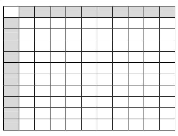 Super Bowl Squares Template Excel Super Bowl Squares Template