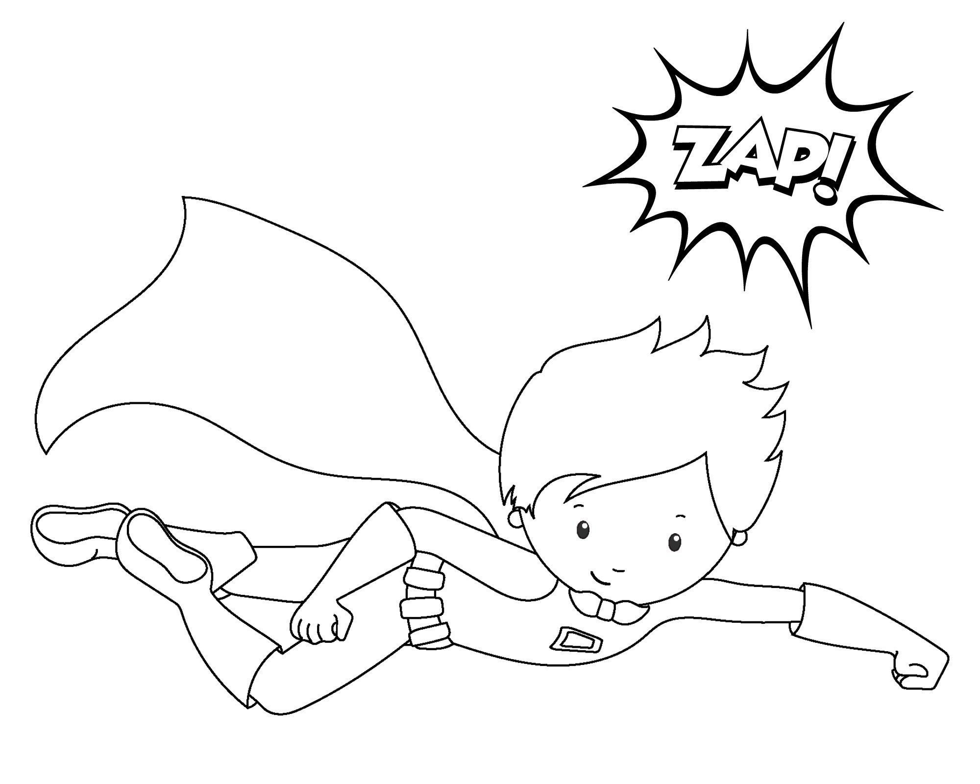Super Heroes Coloring Page Free Printable Superhero Coloring Sheets for Kids Crazy
