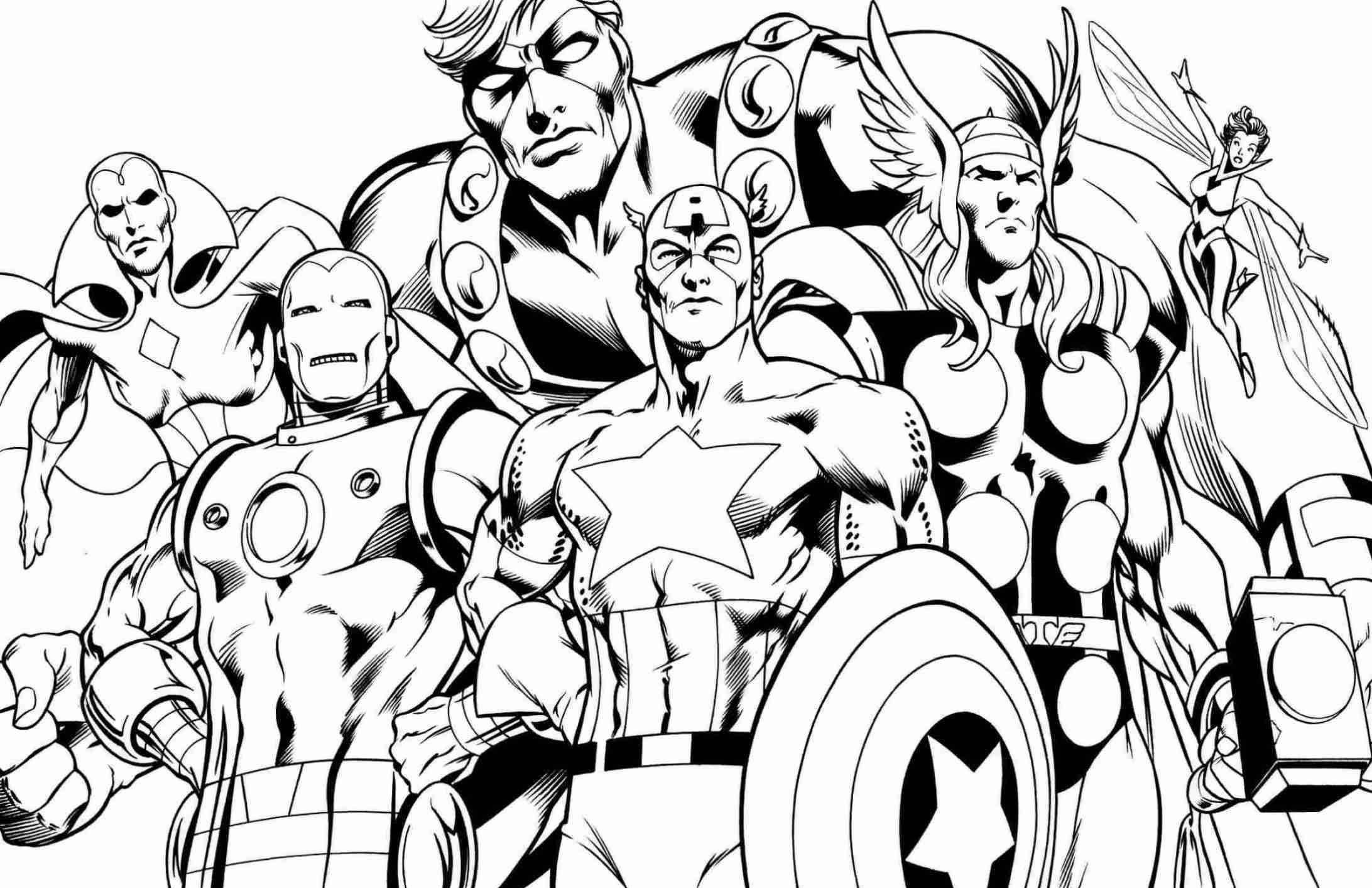 Super Heroes Coloring Page Superhero Coloring Pages Best Coloring Pages for Kids